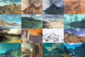 Realistic Surface for Terragen by PatGoltz