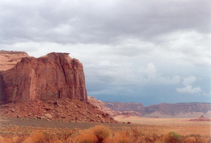 Storm over Distant Cliffs - MV by PatGoltz