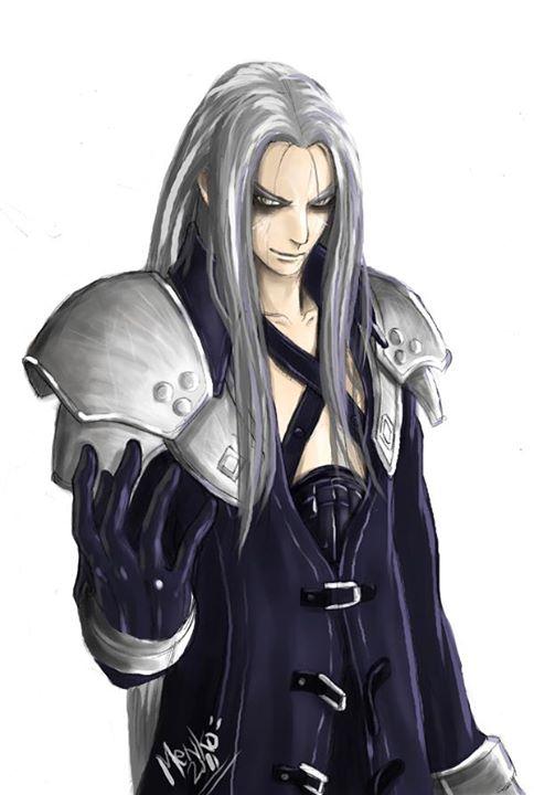 Sephiroth by Menkoholic
