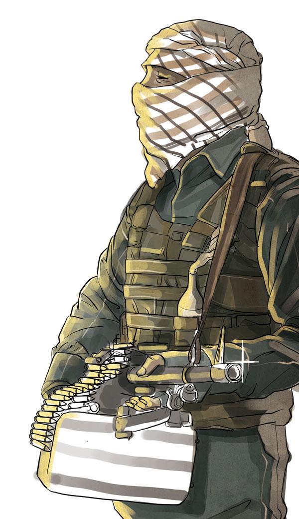 Iraqi rebel squad by Menkoholic