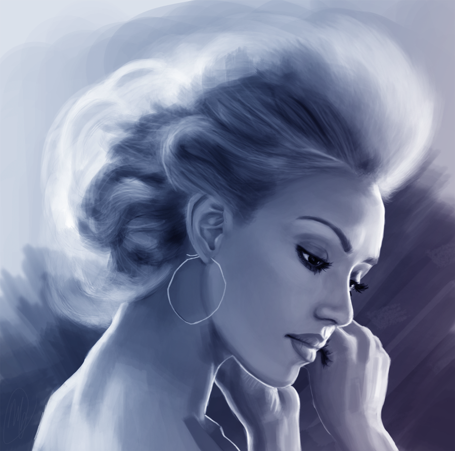 Jessica Alba by Martut