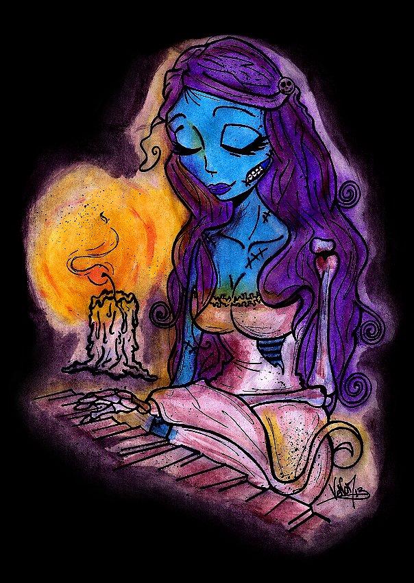 Vos dessins et autres créations !! - Page 4 Emily__corpse_bride__by_dv_venom-d5xoyrf