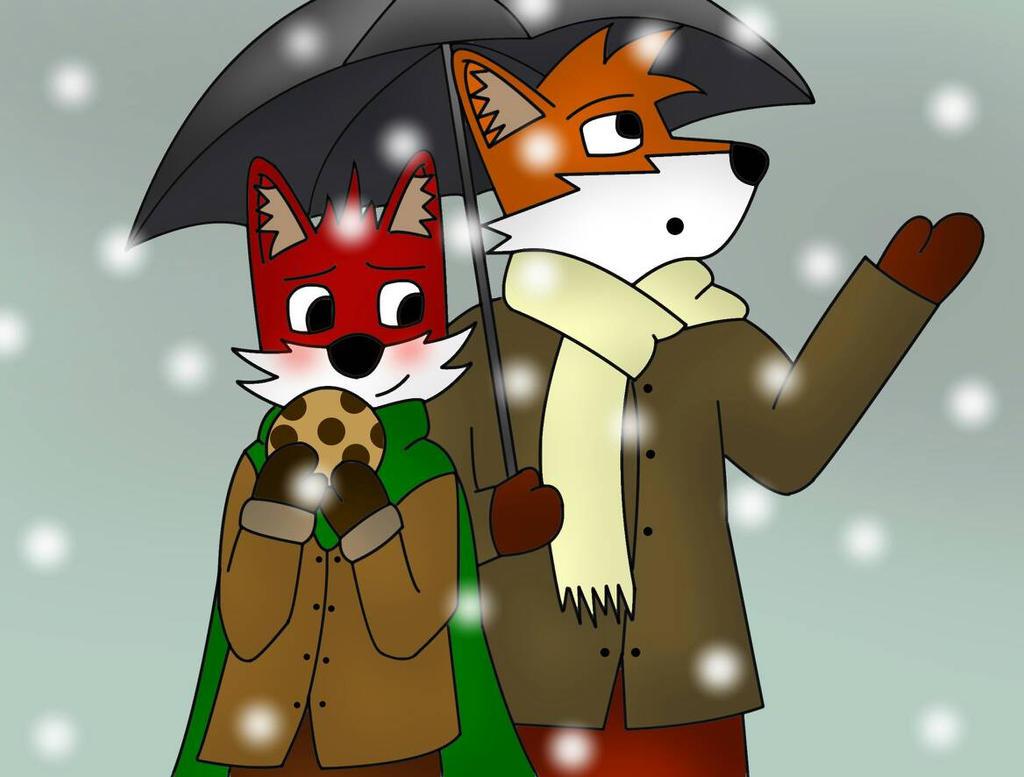 A Snowy Day :3 by Alraio