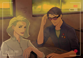 X-men High School: Emma Frost and Cyclops