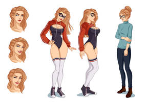 [commissions] Reference Sheet: Candice