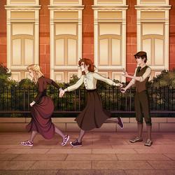 [commissions] OCs: Victorian Trio