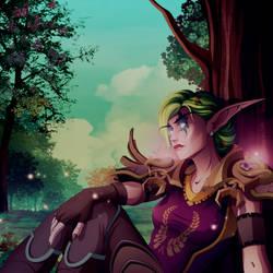 [commissions] OC: Shylaenia Leafwalker