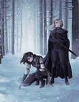 [commissions] OCs: The Hunt by Quincy-Sue