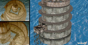 Water Prison 3d model SH 4