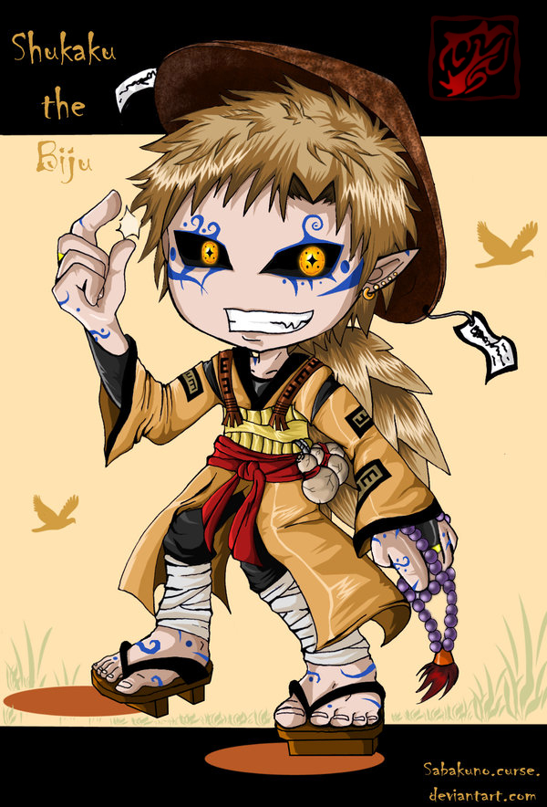 Chibi-Shukaku 1 by Ravenniia on DeviantArt