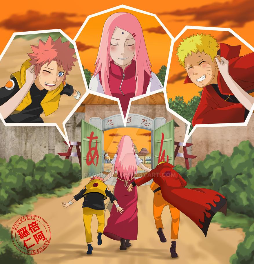 Haha Poor Naruto Is Ignored Again By Sakura: Ichiraku Ramen Bar