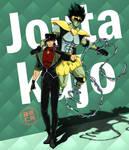 Jouta Kujo and Charmy Green_JotaKak Love child