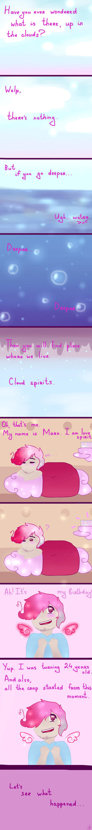 Deep in the clouds. (septiplier) #1 by EvinaRain