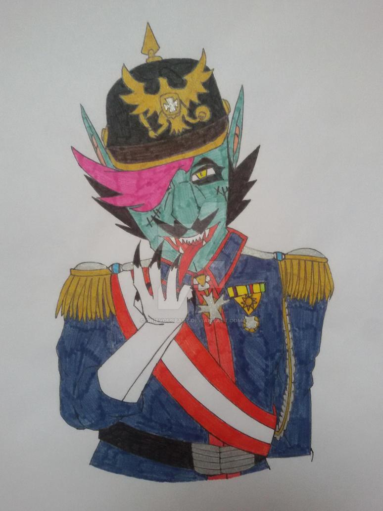 Kaiser Willhelm Hippster by grievousBABY
