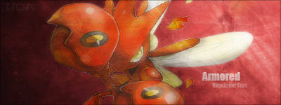 Red Armored. Firma_scizor_by_tionm2-d5psx7l