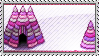 Pink Sea Stamp by trickypup