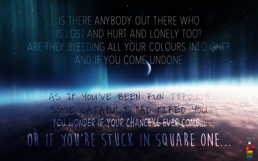 Coldplay - Square One by avikantz