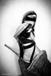 Black heels by Dust-Dragon