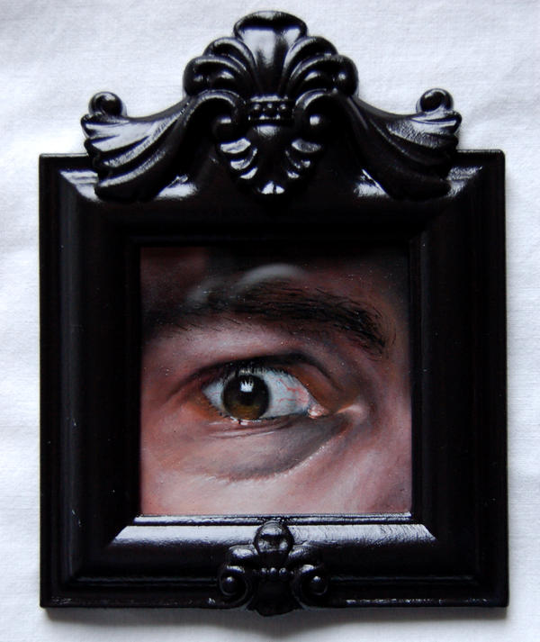 Captive 2 (framed) by reality-must-die