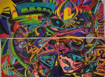 millographe aux couleurs by L-anti-poeide