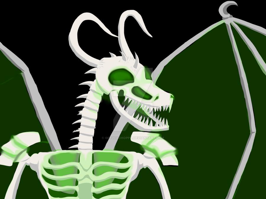 Spooky Scary Skeledragons by Get2daChoppa