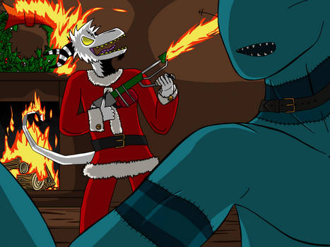 Deck the Halls with Flaming Napalm