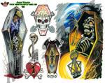 Tattoo Flash sheet 7