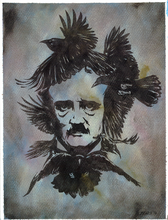 Edgar Allan Poe by JasonMas