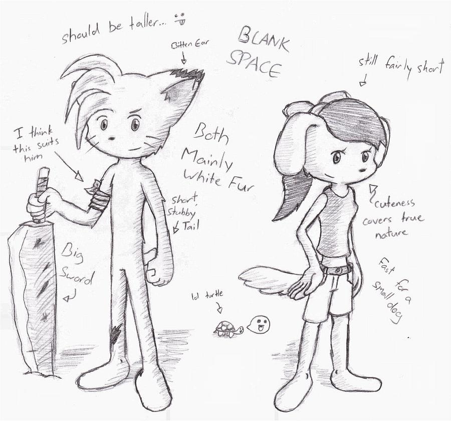Alex and Luna - BCB Story by VedtheFlameDevil