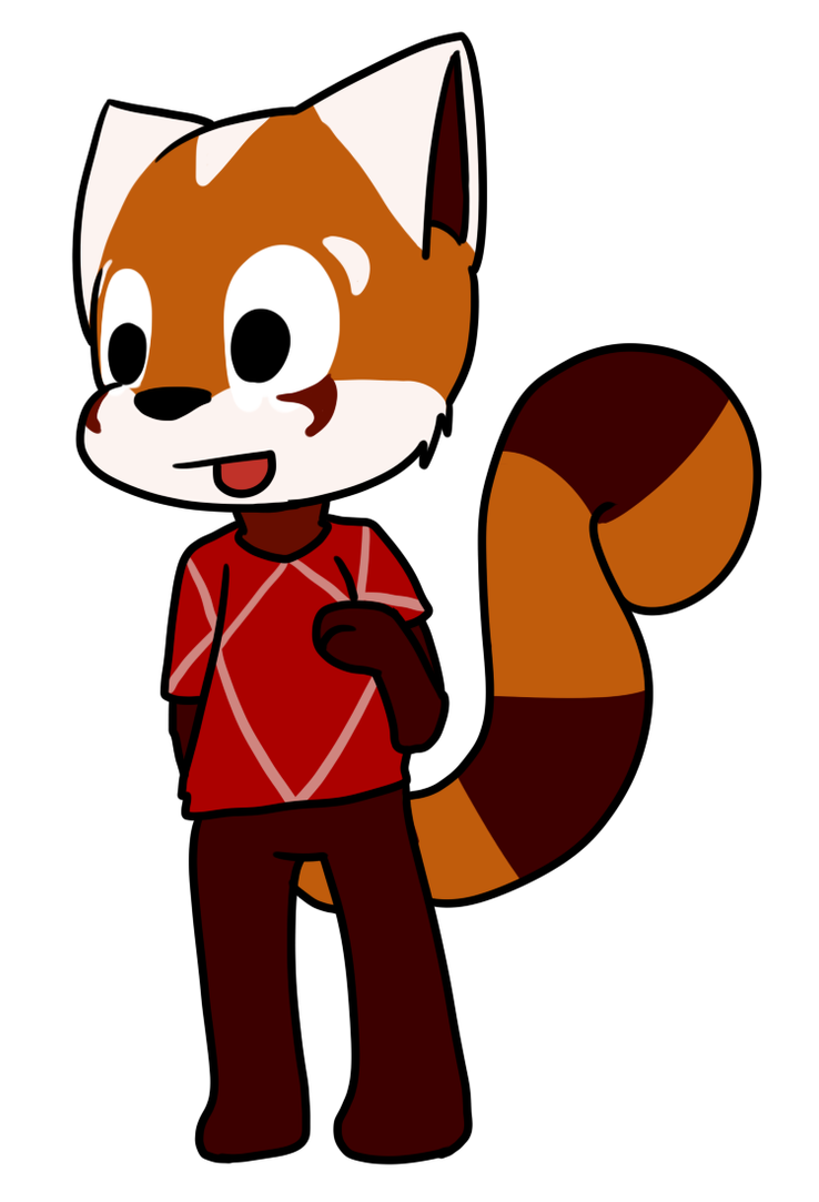 Blane - Animal Crossing Style by VedtheFlameDevil