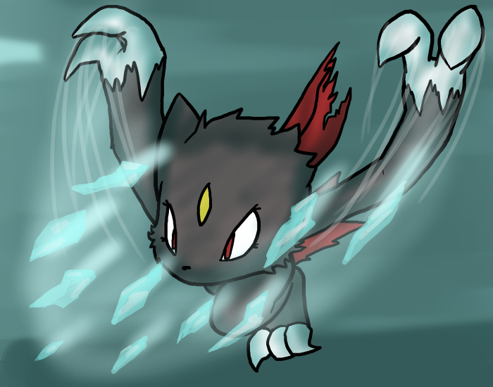 [AT] Lx Used Ice Shard by VedtheFlameDevil