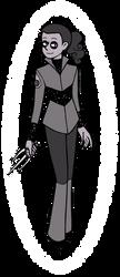 Snowflake Obsidian by siya