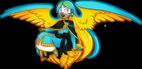 Ara Ararauna Angel