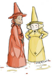 Ketchup and Mustard Witches