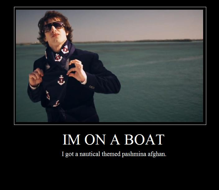 Im on a boat. by charliechainsaw