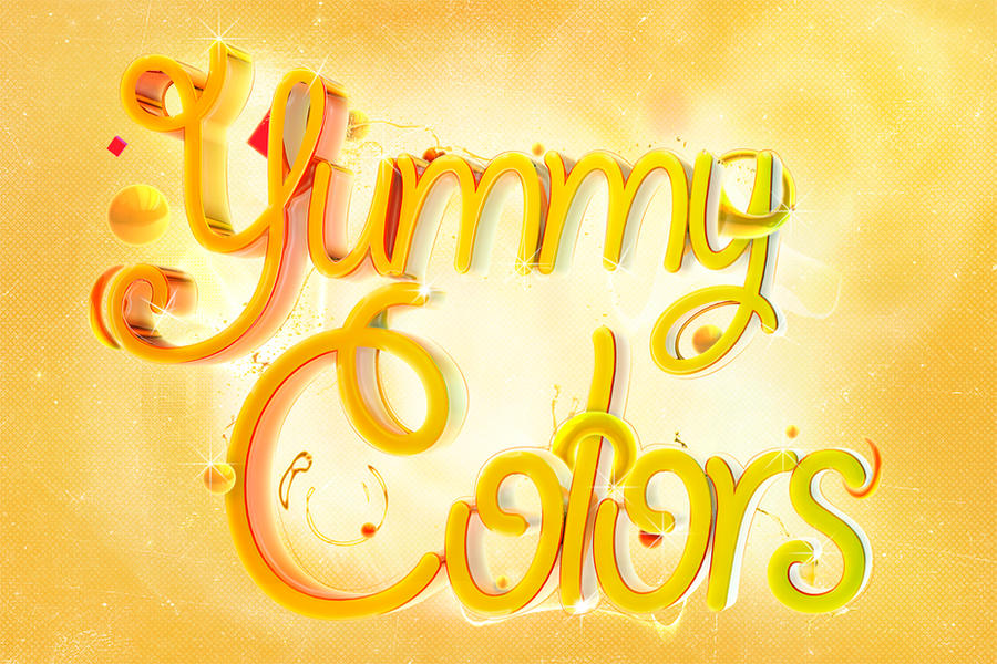 Yummy colors by NaZiiTo