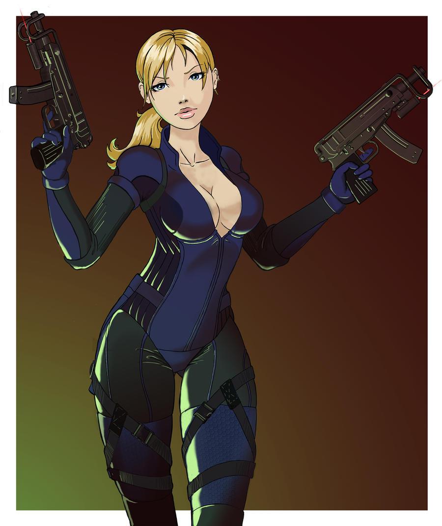 Jill Valentine by Sawasul