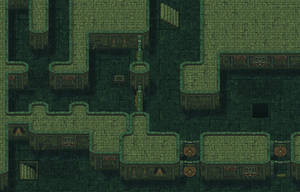 Dungeonman Green Dungeon by lyxven