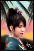 Japanese girl by MaoUndo