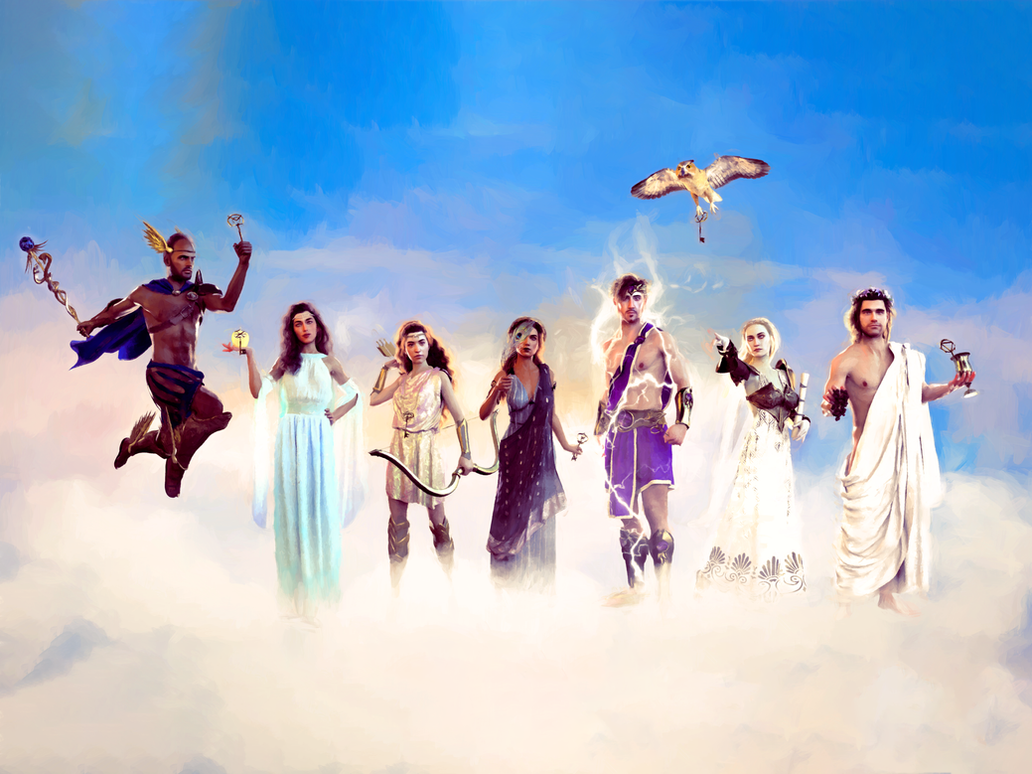 The Olympians by missuskisses