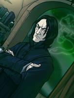 Severus Snape by grantgoboom