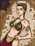 Another Slave Leia Commission