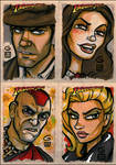 Indiana Jones cards BATCH 1