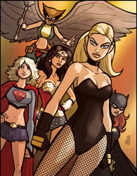 The Good Girls of DC by grantgoboom