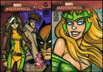 Marvel Masterpieces AP 1 and 2