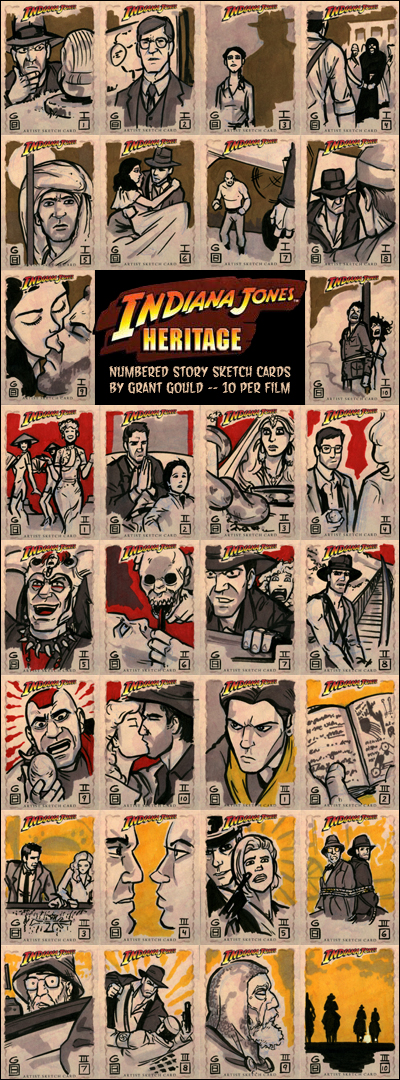 Indiana Jones cards BATCH 4 by grantgoboom
