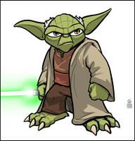 Yoda by grantgoboom