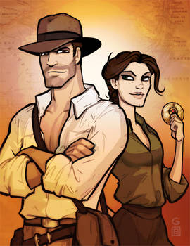 Indy and Marion