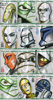 Topps Clone Wars Cards 1
