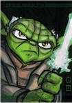 Topps Clone Wars ARC Yoda